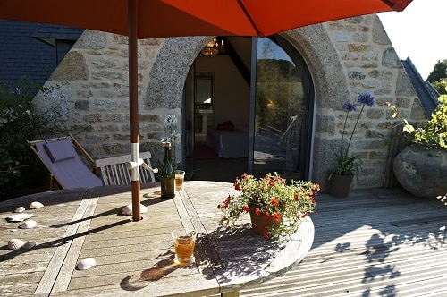 chambre Ouessant terrasse